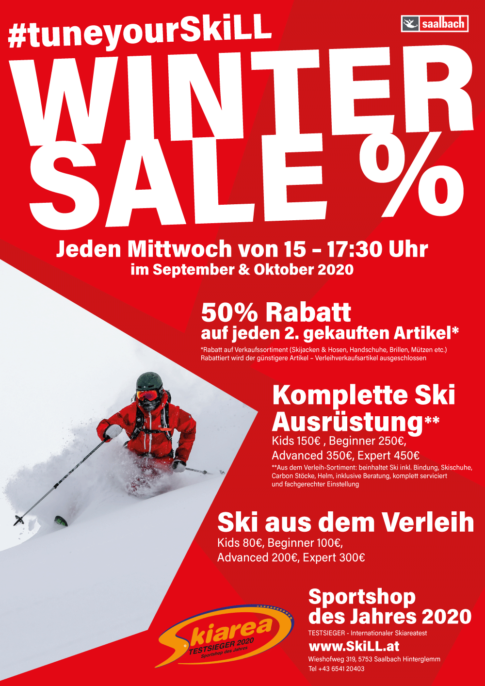 Winter Sale %